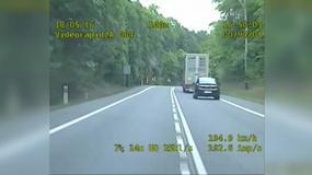 Pirat drogowy uciekał przed policją z prędkością 200 km/h