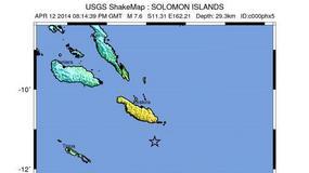 Potężne trzęsienie ziemi koło wysp Salomona