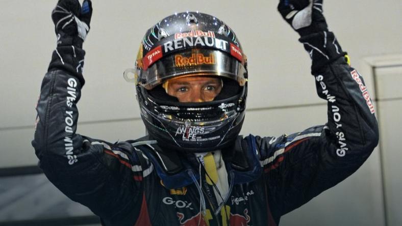 Sebastian Vettel, lider mistrzostw świata