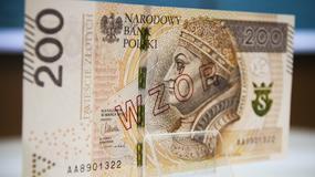 Nowe 200 zł będzie miało najlepsze światowe zabezpieczenia