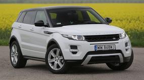 Test Range Rovera Evoque: zmiany głównie w technice