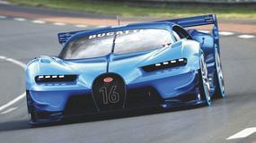 Bugatti Vision Gran Turismo - nielimitowane i niemal nierealne