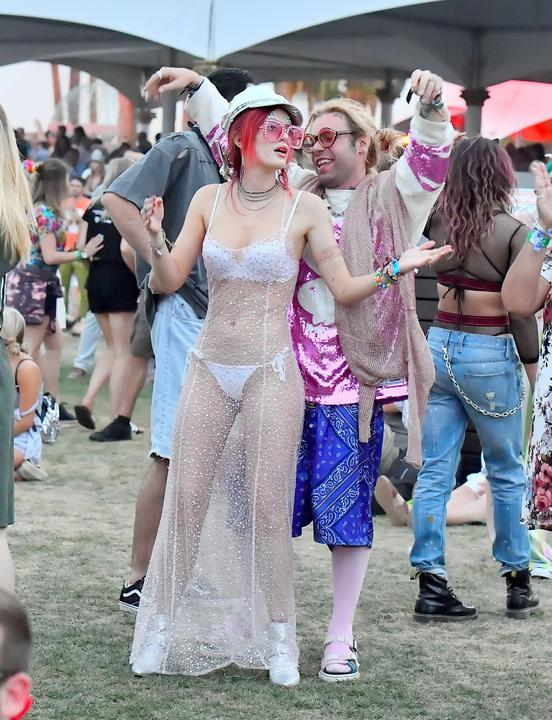 Bella Thorne a Coachella fesztiválon / Fotó: Northfoto