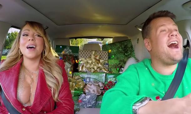 Gwiazdy śpiewają świąteczny hit Mariah Carey