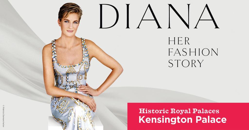Wystawa Diana. Her Fashion Story w Kensington Palace