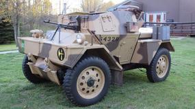 Andrzej Duda odebrał w USA zabytkowy wóz pancerny, który trafi do Poznania