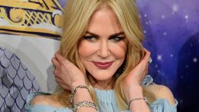 Nicole Kidman na otwarciu świątecznej wystawy w Paryżu. Coś poszło jednak nie tak...