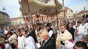 Uroczystości Bożego Ciała w Warszawie. Zobacz zdjęcia