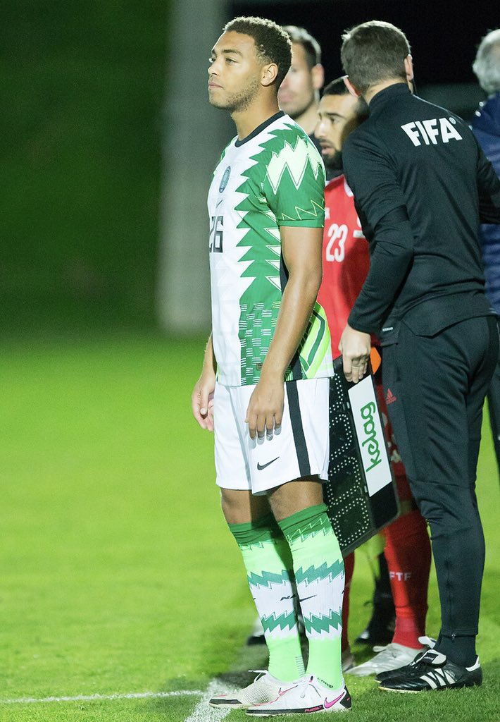 Cyriel Dessers didn't see enough minutes, which is one of Gernot Rohr's puzzling decisions (Twitter/Cyriel Dessers)