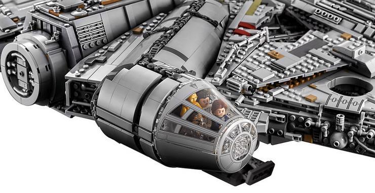 """Leia: """"Remélem tudja mit csinál!"""" Han: """"Én is.""""  /Fotó: LEGO"""