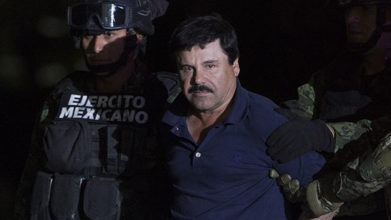 El Chapo elfogása két hónappal ezelőtt /Fotó: Northfoto