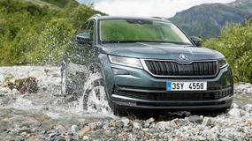 Opancerzona Skoda Kodiaq będzie konkurować z Land Roverem