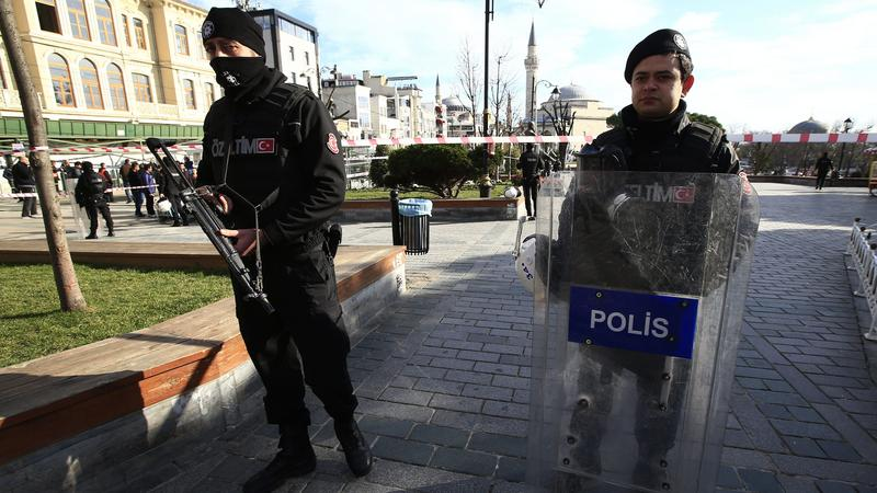 Isztambuli merénylet / Fotó: MTI