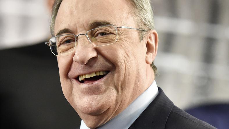 Florentino Pérez, a Real elnöke nem titkolja, sokat akarnak költeni / Fotó: AFP