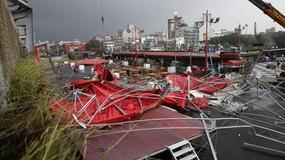 Tajfun Megi pustoszy Tajwan