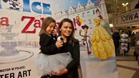 """Gwiazdy z dziećmi na premierze """"Disney on ice"""""""