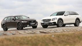 Volvo V90 Cross Country kontra Mercedes All-Terrain - który jest lepszy na każdą drogę?