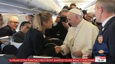 Wpadka z prezentem dla papieża?!