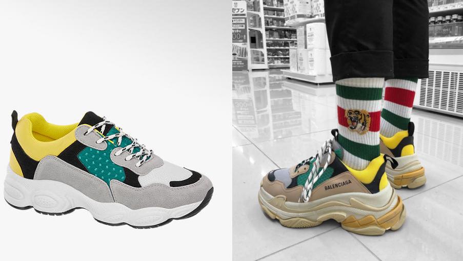Deichmann robi podróbkę butów butiku Balenciaga Noizz
