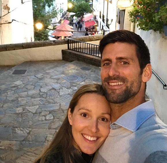 Jelena i Novak Đoković