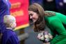 Nagyon illik ez a szín Katalin hercegnéhez.