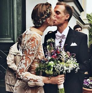 Frida Gustavsson wzięła ślub! Wyglądała przepięknie!