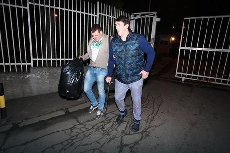 Izlazak: Kristijan posle pritvora