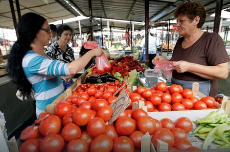 Na beogradskim pijacama juče se najviše tražio paradajz