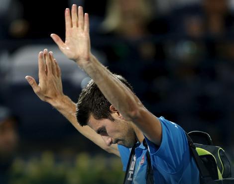 Novak Đoković se oprašta od publike u Dubaiju