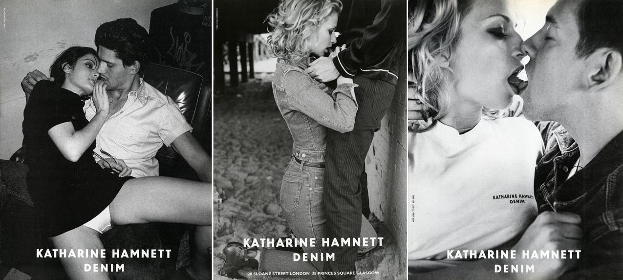 Pierwsze zdjęcia reklamowe dla projektantki Katrin Hamnett / mat. praowe