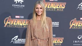 Gwyneth Paltrow odsłoniła nogi. Jej krótka sukienka niewiele zakryła...