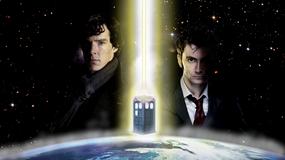 Sherlock spotka Doctora? Steven Moffat marzy o crossoverze