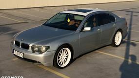 Ciekawostka z ogłoszenia: BMW serii 7, którym jeździł Tede