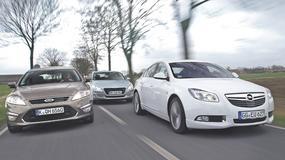 Ford Mondeo kontra Opel Insignia i Peugeot 508: limuzyny dla rodziny
