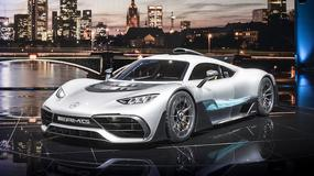 Mercedes-AMG Project ONE: premiera superbolidu we Frankfurcie