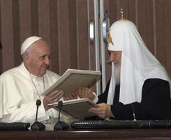 ISTORIJSKI DOKUMENT Evo šta piše u deklaraciji koju su potpisali papa i ruski patrijarh