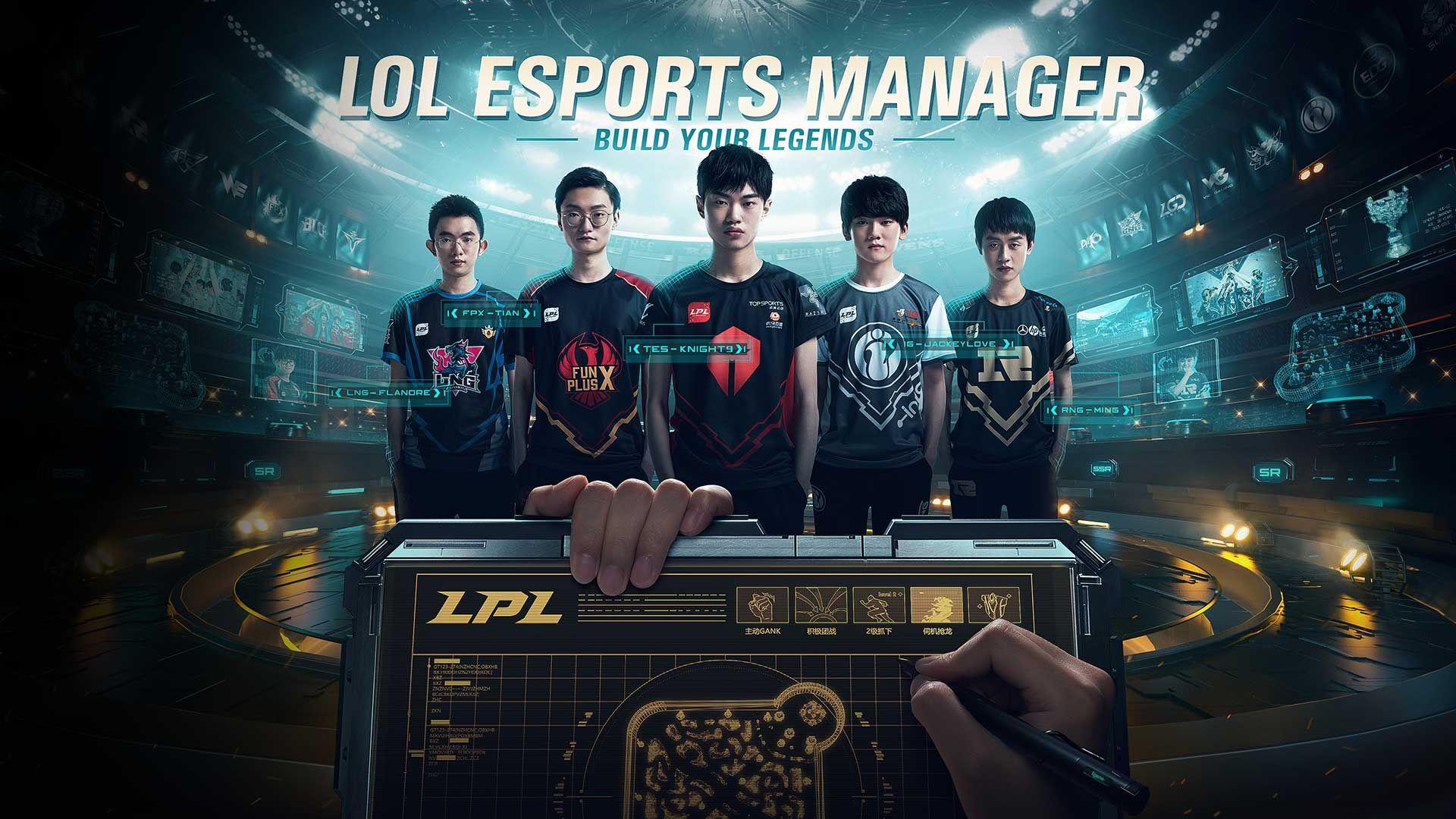 Jedným z pripravovaných titulov je aj simulátor manažmentu e-športového tímu.