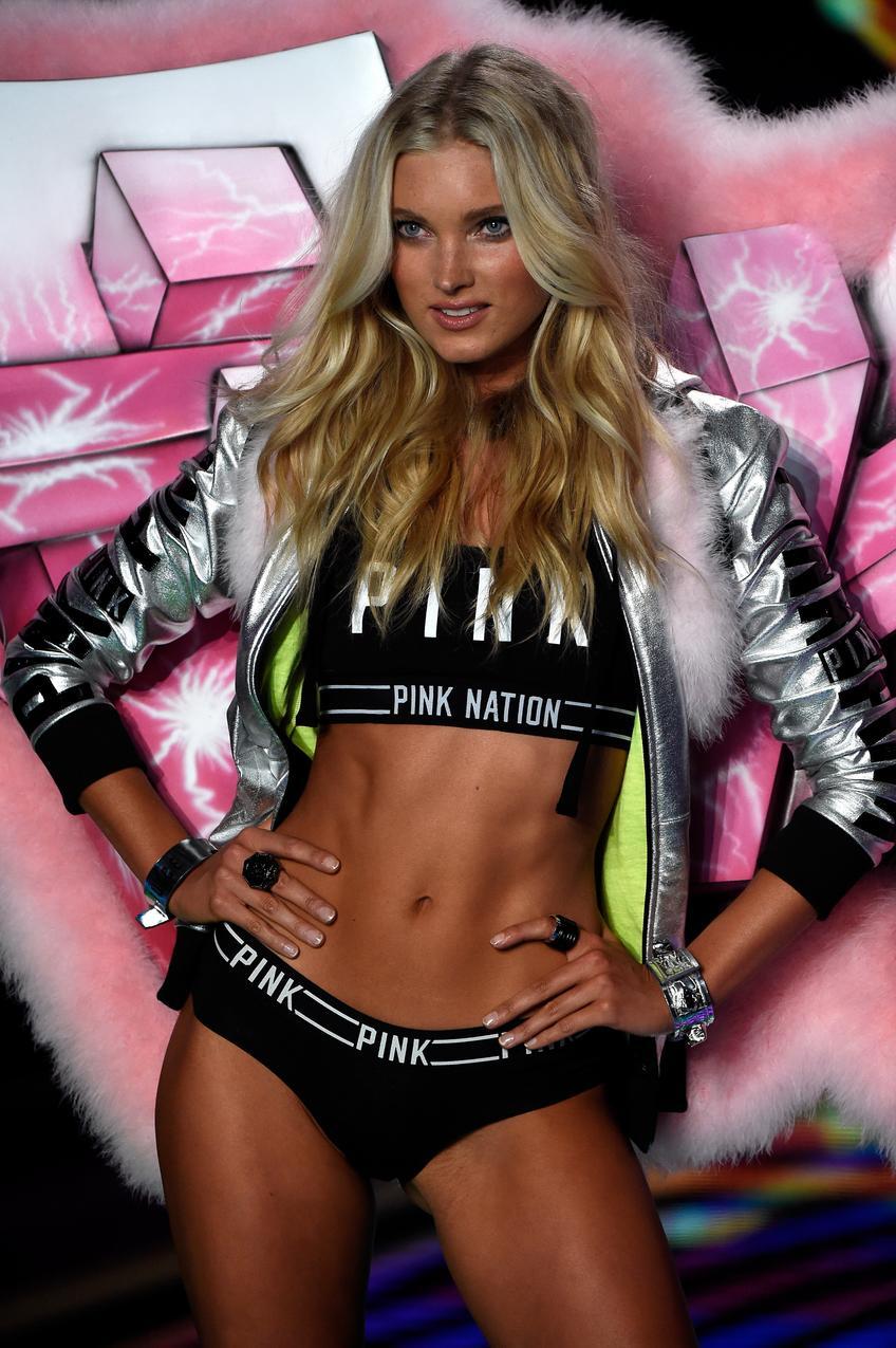 Elsa Hosk na pokazie Victoria's Secret