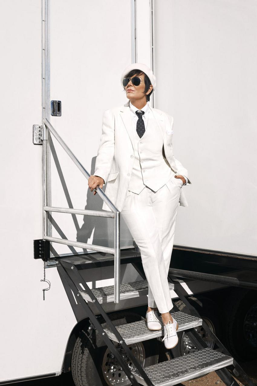 Kris Jenner for Harper's Bazaar