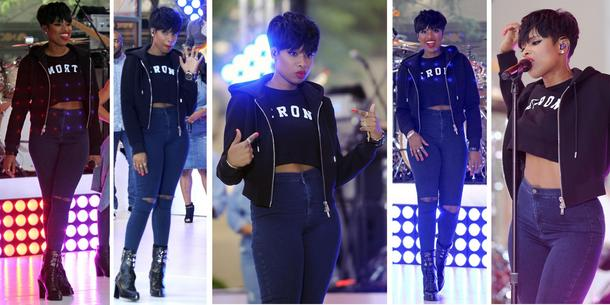Best look: Jennifer Hudson w bluzie Givenchy