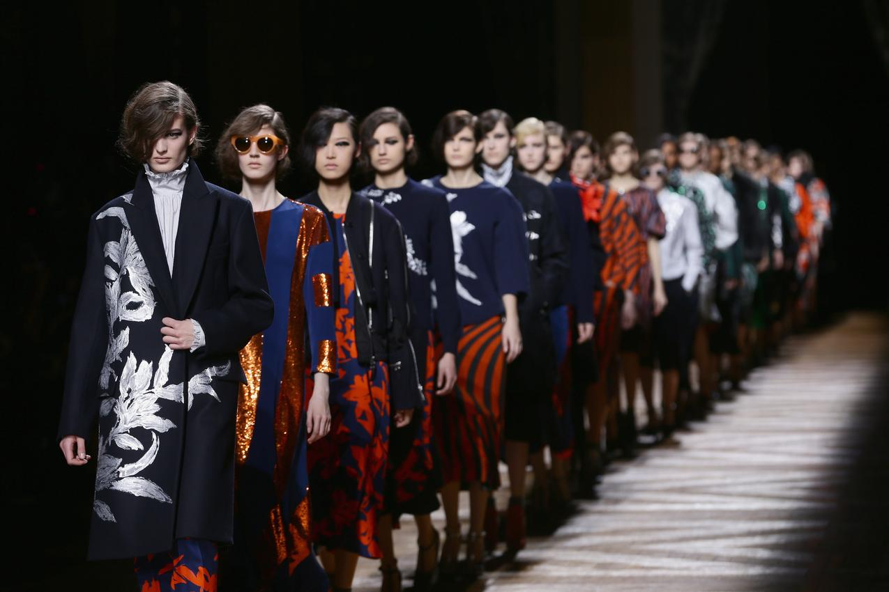 Dries Van Noten: Runway - Paris Fashion Week / Getty Images