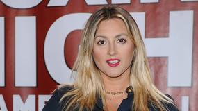 Piękna Karolina Szostak na konferencji prasowej