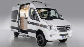 Mercedes Sprinter - dostawczak z łazienką