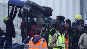 Ewakuacja obozowiska migrantów w Calais
