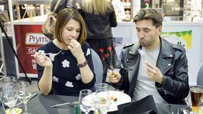 Gwiazdy w roli jurorów konkursu kulinarnego. Kto jadł najładniej?