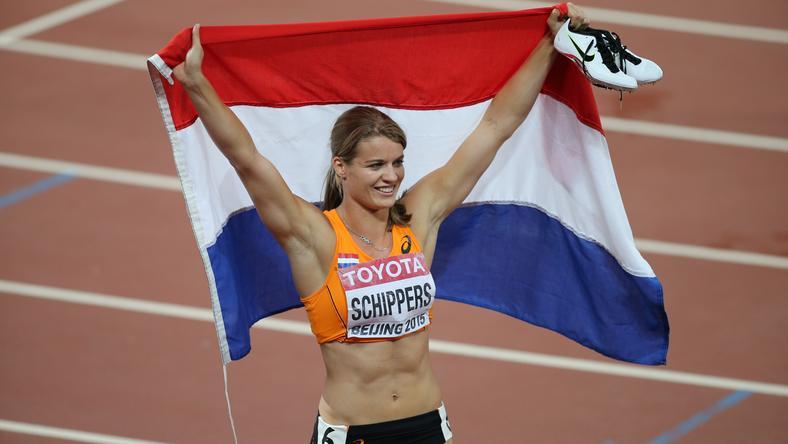 Dafne Schippers a 200 méteres síkfutás világbajnoka /Fotó: AFP