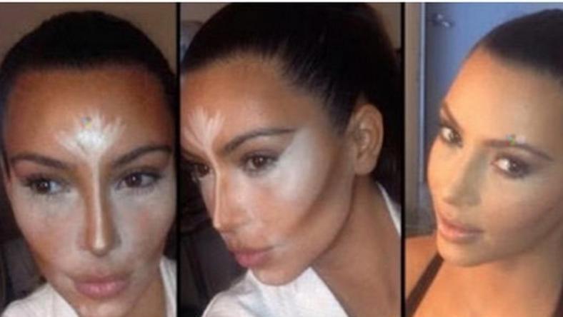 Kim Kardashian a kontúrozás nagy mestere / Fotó: Northfoto