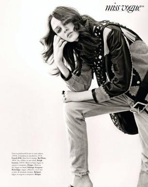"""Mag Cysewska w klimatycznej sesji dla paryskiego Vogue'a"""""""