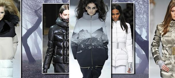 Puchowe kurtki są glamour!