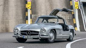 Mercedes 300SL - klasyk niepowtarzalny